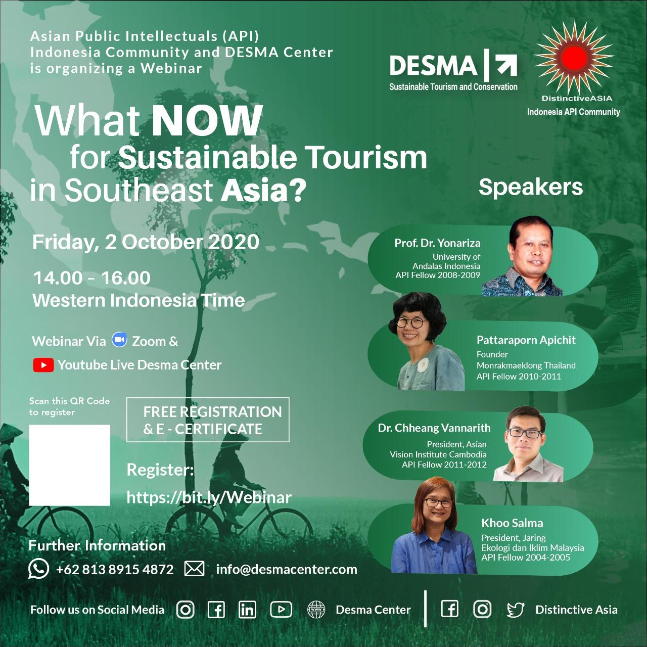 What Now for Sustainable Tourism in Southeast Asia?